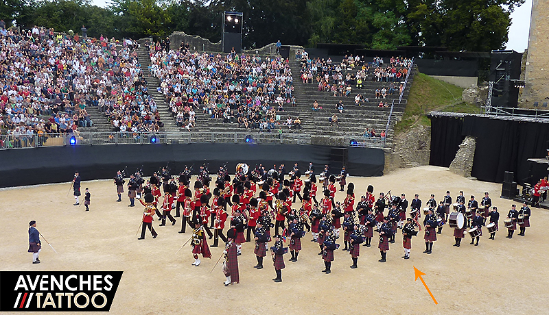 Avenches Tattoo 2013